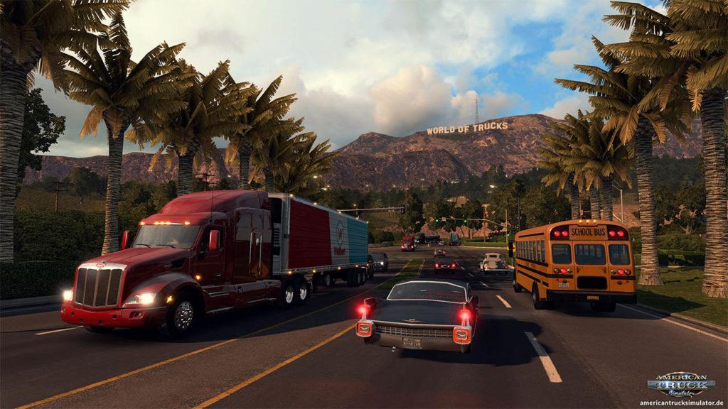 World of Trucks anstatt Hollywood im ATS