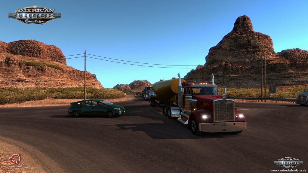 Arizona-Desert Kreuzung