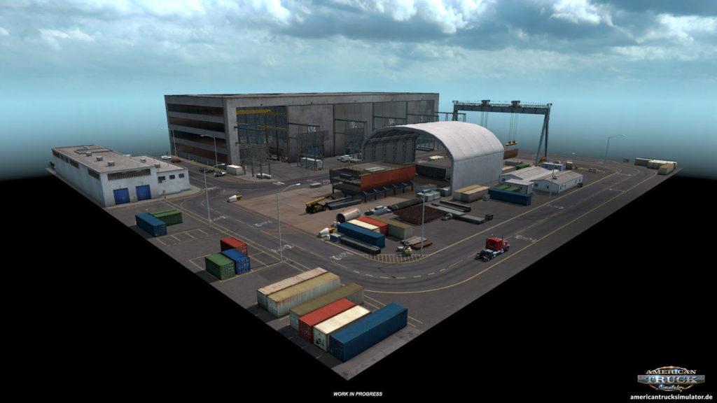 Neue Industrieorte: Eine Werft