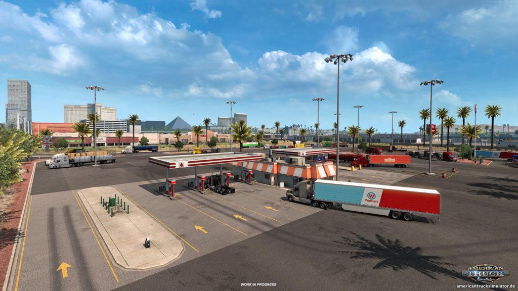 Realistischere Truckstops