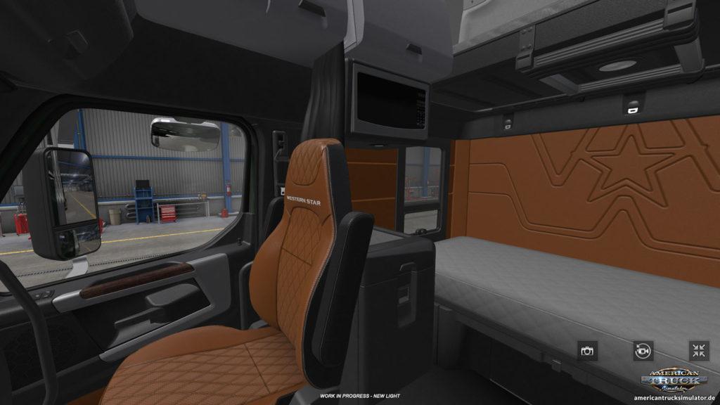 Der Western Star 49X bekommt 2021 auch die Sleeper-Version